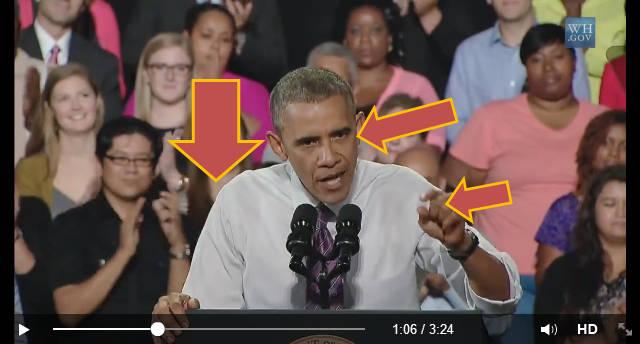 Upewnienie się i koncentracja na wąskim zagadnieniu podczas przemawiania publicznego - Barack Obama